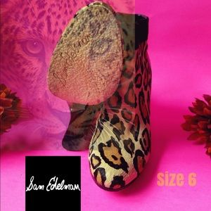 Sam Edelman size 6 best offer welcome animal print
